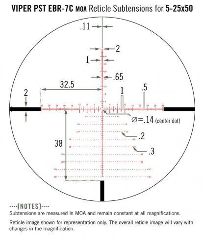 Сетка Viper 5-25 EBR-7C (MOA)